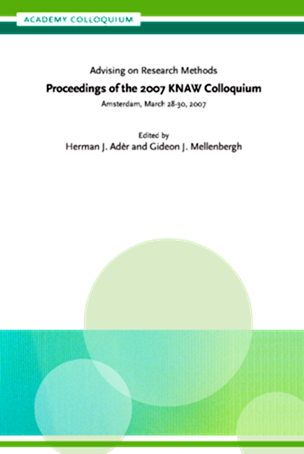 Proceedings of the 2007 KNAW Colloquium